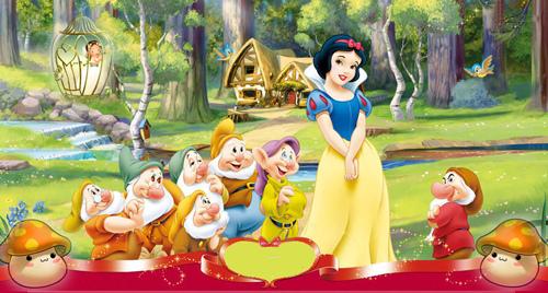 动物简笔画 步骤 白雪公主