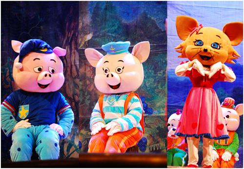 新春特别版卡通舞台剧三只小猪门票