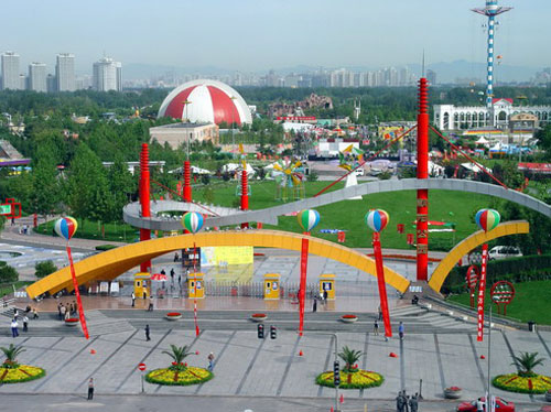 朝阳公园图片