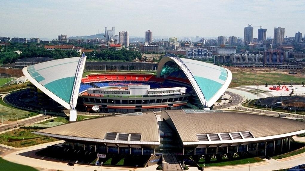 奥体中心体育馆图片