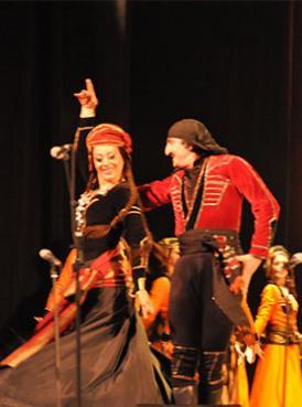 格鲁吉亚国家歌舞团访华演出订票 2013天桥剧场格鲁吉亚国家歌舞团
