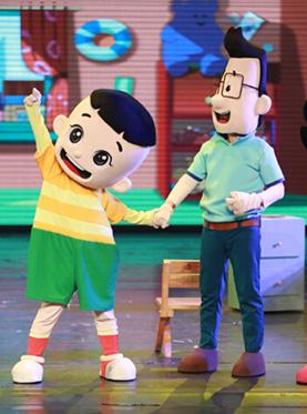 大型卡通舞台剧《新大头儿子和小头爸爸:生日的一天》