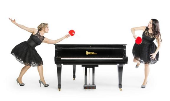 双钢琴的古典与浪漫钢琴皇后也疯狂键盘之旅