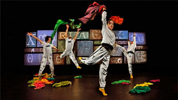 加拿大现代舞装置剧26个字母