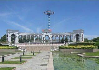 朝阳公园北1门图片