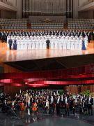 第六届中国交响乐之春音乐会闭幕:吕嘉与国家大剧院管弦乐团、合唱团演绎赵季平、关峡与陈其钢